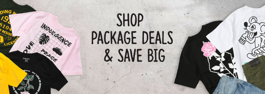 Shop Package Deals and Save Big