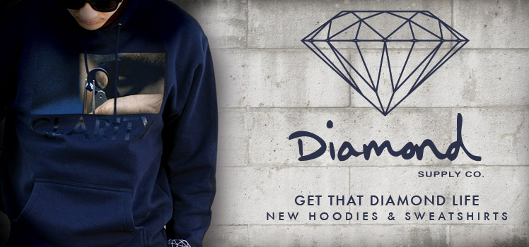Diamond Supply Hoodies