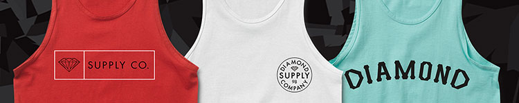 Diamond Supply Men's Tank Tops