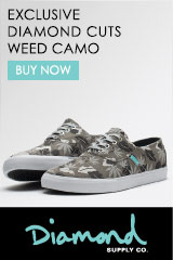 Diamond Supply Weed Camo