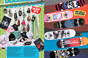Holiday gifts from Thrasher, Stickie Bandits, Artist Collective and other top brands with skateboard completes from Superior, Powell, Girl and more.