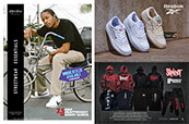 Clothing for men from Shaka Wear and Brooklyn Promises x Slipknot with shoes from Reebok.