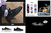 Shop shoes from Converse, skate decks from Primitive and apparel from the new Black Pack by Primitive.
