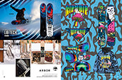Snowboard gear from Lib Tech, Arbor and RIPNDIP.