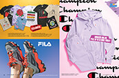 Shop Champion clothing for women, Fila shoes and t-shirts from brands like Obey, Cross Colours, Melodie, New Girl Order, A Lost Cause and more.