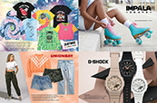 Check out Zumiez-exclusive graphics for women, styles from Unionbay, Impala rollerskates, and G-Shock watches.