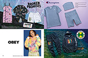 Shop spring looks for women from Broken Promises, Obey, Champion and Cross Colours.
