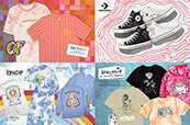 Check out new graphic styles from Odd Future, RIPNDIP, Converse and Melodie.