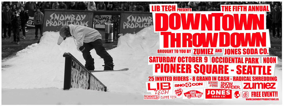 Downtown Throwdown in Seattle