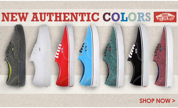 New Authentic Colors - Shop Now