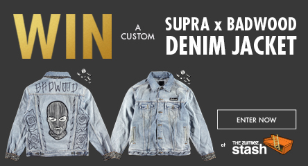 Enter to Win a Custom Supra X Badwood Denim Jacket