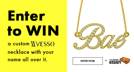 Enter to Win A Custom VESSO Necklace With Your Name
