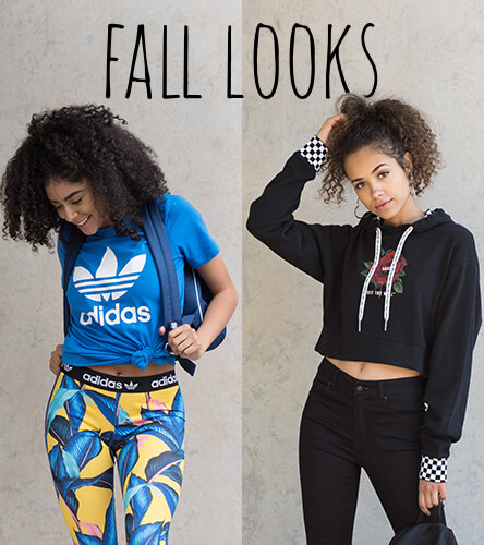 Women's Fall Looks Featuring Vans and adidas
