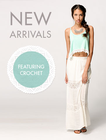 Spring New Arrivals Crochet Women
