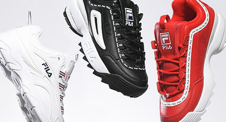 66351d796f2 Shop FILA Disruptors and other shoe styles, along with apparel and  accessories for women and. Shop FILA · Adidas ...