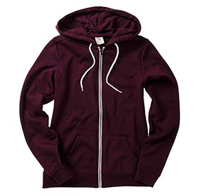 Potent Purple Fleece Zip Hoodie