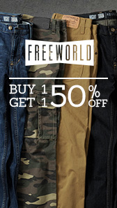 Free World - Buy 1 Get 1 50% Off