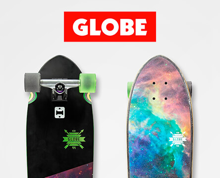 Pre-built cruiser skateboards featuring the Globe Blazer board come ready to ride with no assembly required.