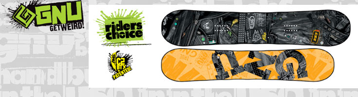gnu riders choice snowboard