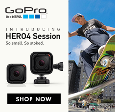 GoPro Hero 4 - Sessions - so small so stocked