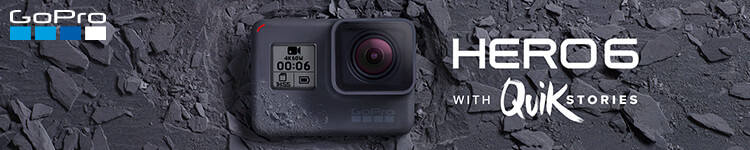 GoPro Hero6 with Quik Stories
