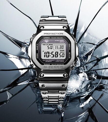 G-Shock GMVB50000 Silver watch