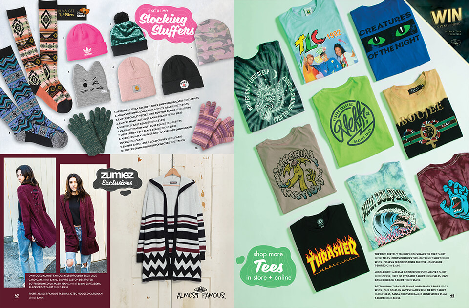 Holiday Catalog, Pages 47-48