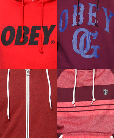 Red Hoodies
