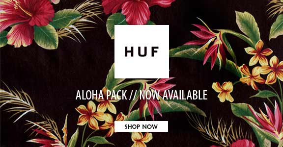 Huf Aloha Collection