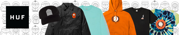 HUF X South Park HUF Clothing