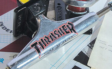 Independent x Thrasher Trucks