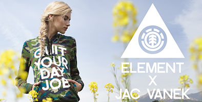 Element x Jac Vanek