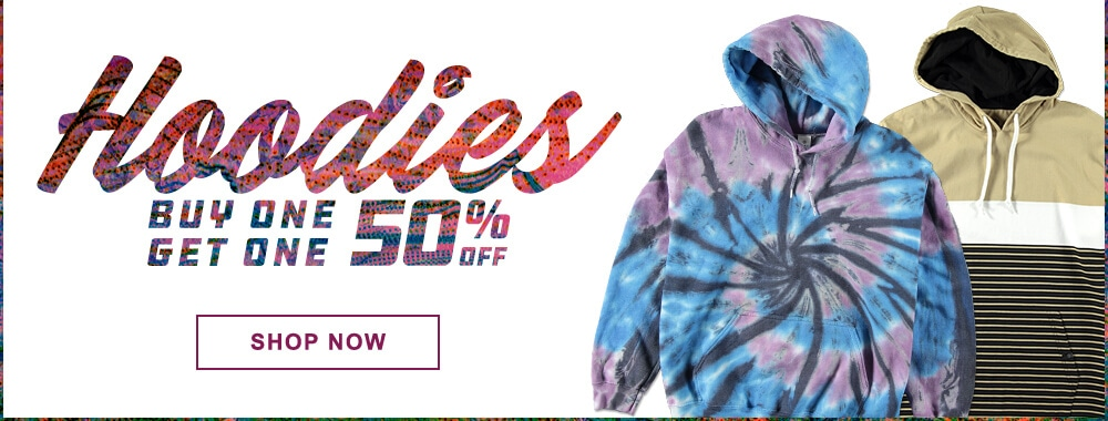 Buy One, Get One 50% Off Men's Hoodies