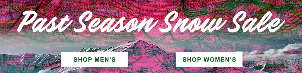 Past Season Snow Sale