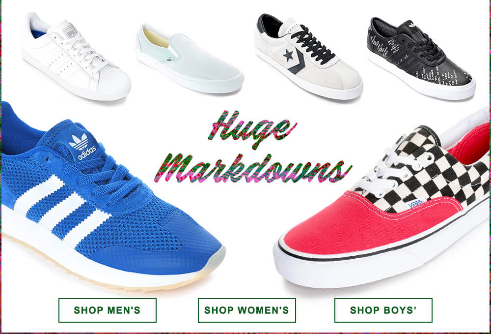 Huge Markdowns on Shoes