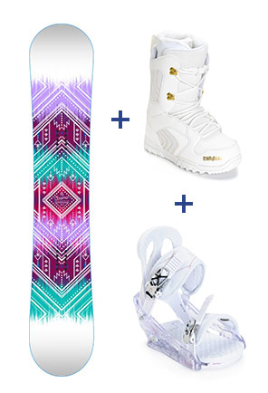 Womens Snowboard Packages
