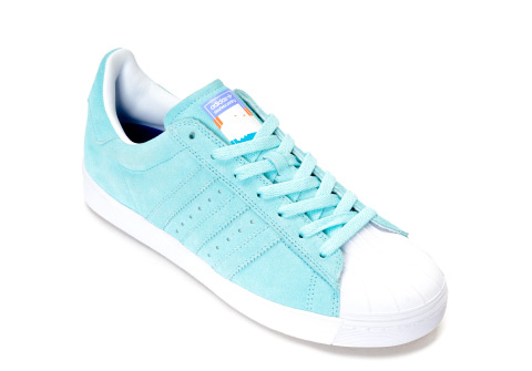 Adidas Pastel Blue Shoes