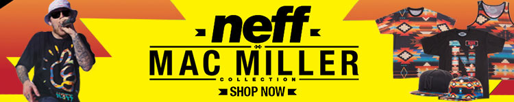 Mac Miller and Neff Collection at Zumiez