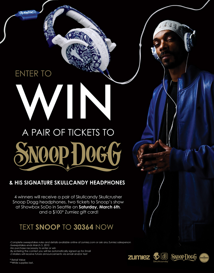 Snoop and Skullcandy
