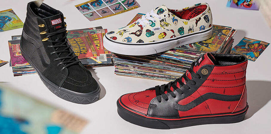 Shop Vans x Marvel