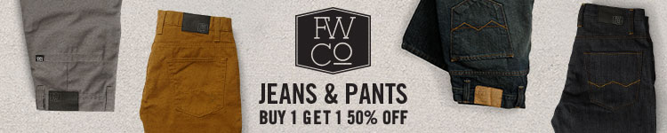 Free World Jeans & Pants - Buy 1 Get 1 50% Off