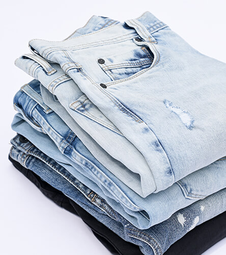 Shop all styles and brands of men's denim