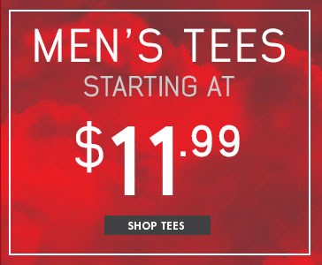 Men's Tees Starting At $11.99