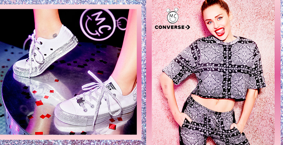 Converse x Miley Cyrus Collection