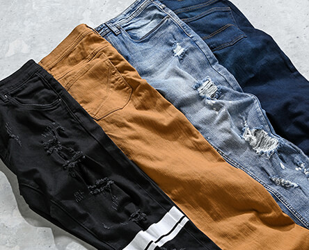 Pants and denim for men