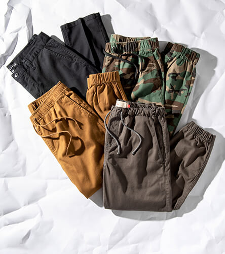 Shop all men's pants