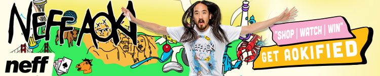 Neff x Aoki Collection at Zumiez