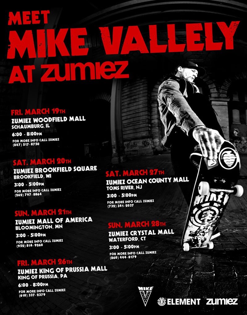 Mike V at Zumiez