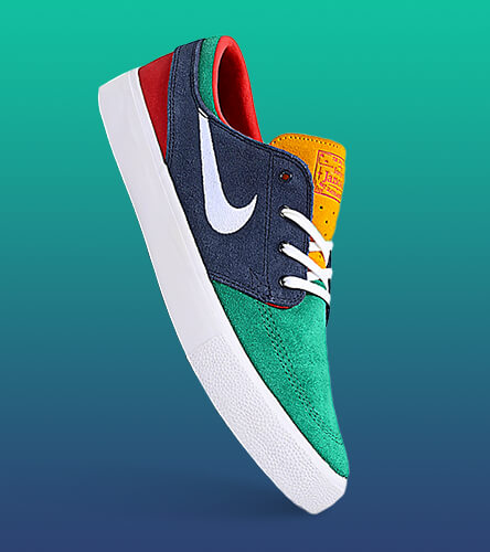 Shop all men's shoes featuring the Nike Janoski