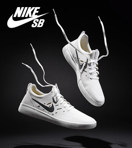 Find a pair of Nike Skateboard shoes at Zumiez that's perfect for you skating style. Featuring the Nyjah Huston pro model shoe in all white.